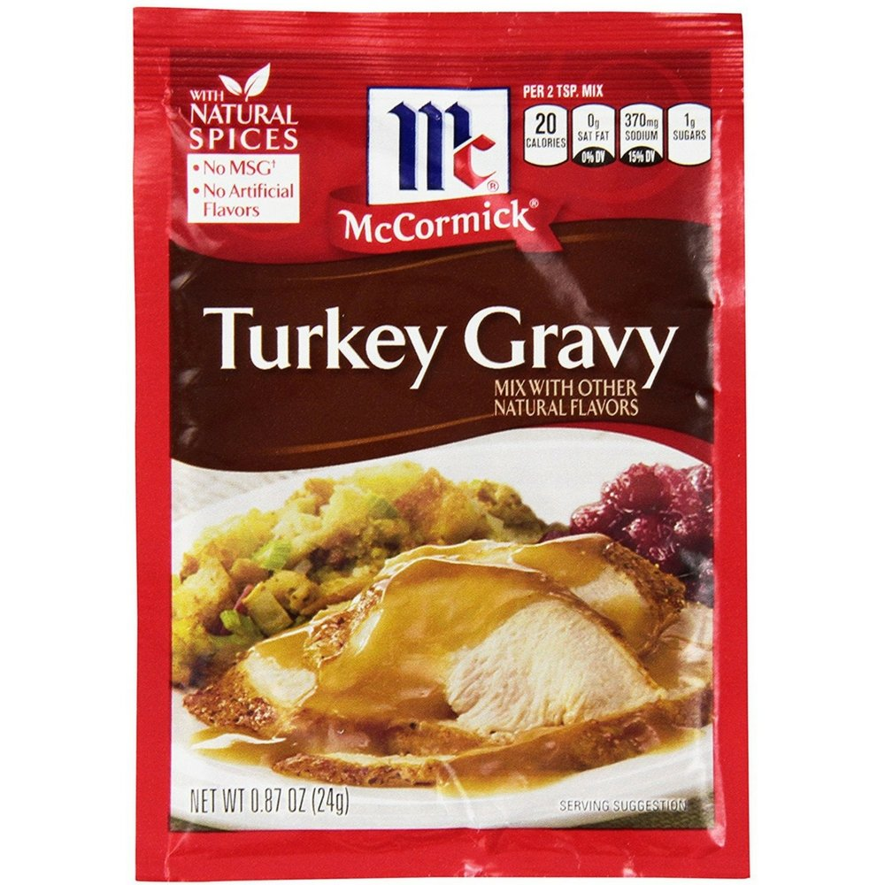 McCormick Turkey Gravy Mix 0.87 oz (Pack of 12)