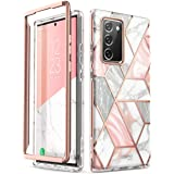 i-Blason Cosmo Series Case Designed for Galaxy Note 20 5G 6.7 inch (2020 Release), Protective Bumper Marble Design Without Bu