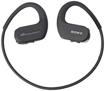 Sony Nwws413 Bm 4 Gb Sports Wearable Mp3 Player (Black) by Sony