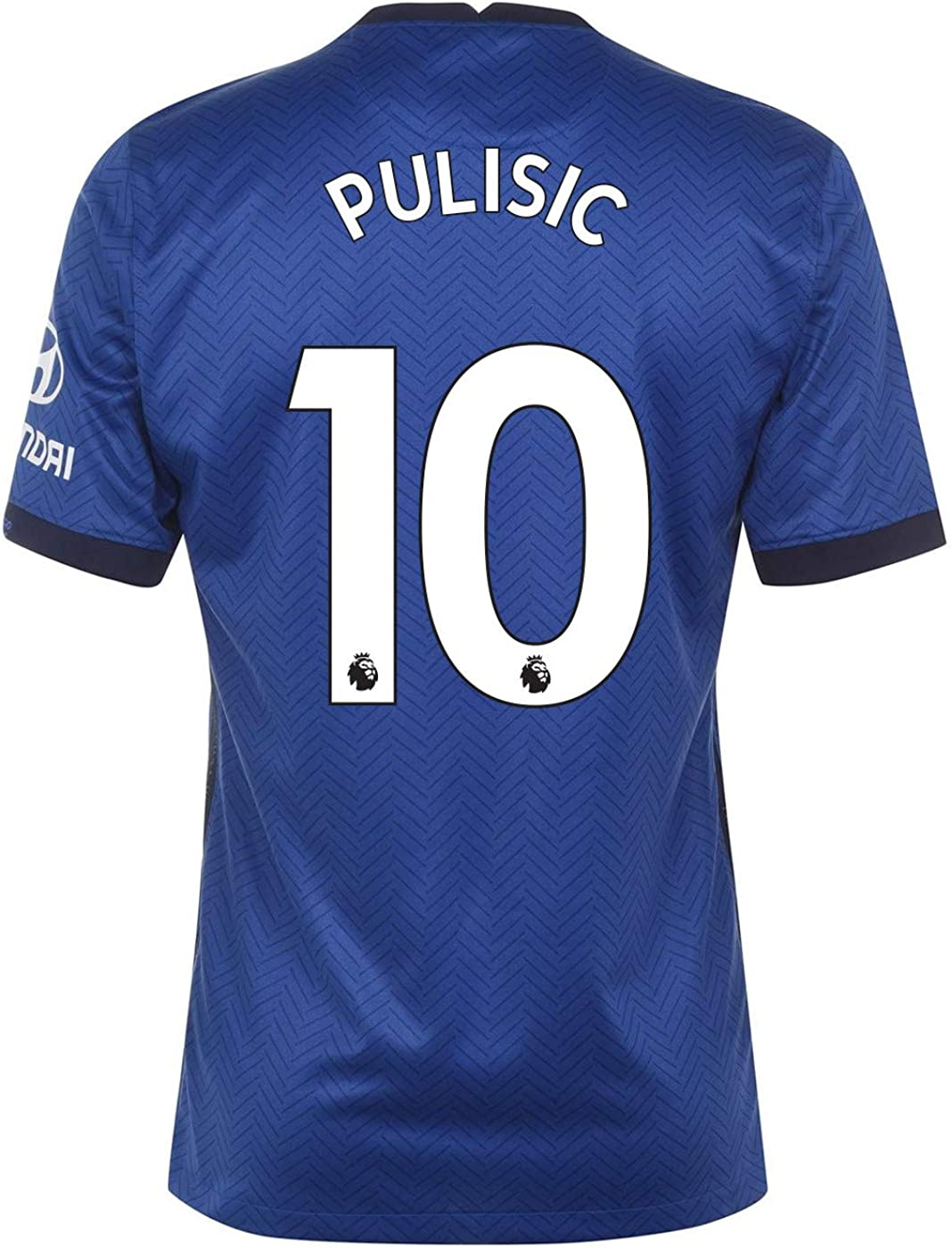 PULISIC #10 Chelsea Home Men's Stadium Soccer Jersey- 2020/21