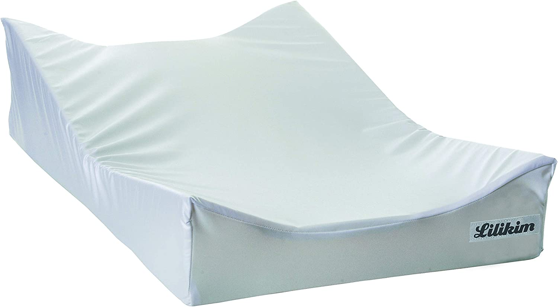 Tapetes para cambio de pa/ñal Lilikim LK-SOFA01 Blanco Curvo tapete para cambio de pa/ñal Blanco, Curvo, Mon/ótono, 740 mm, 45 cm, 190 mm