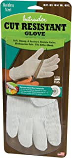 product image for Intruder Resistant Mesh Cutting Gloves, Made in the USA, Size Medium, White