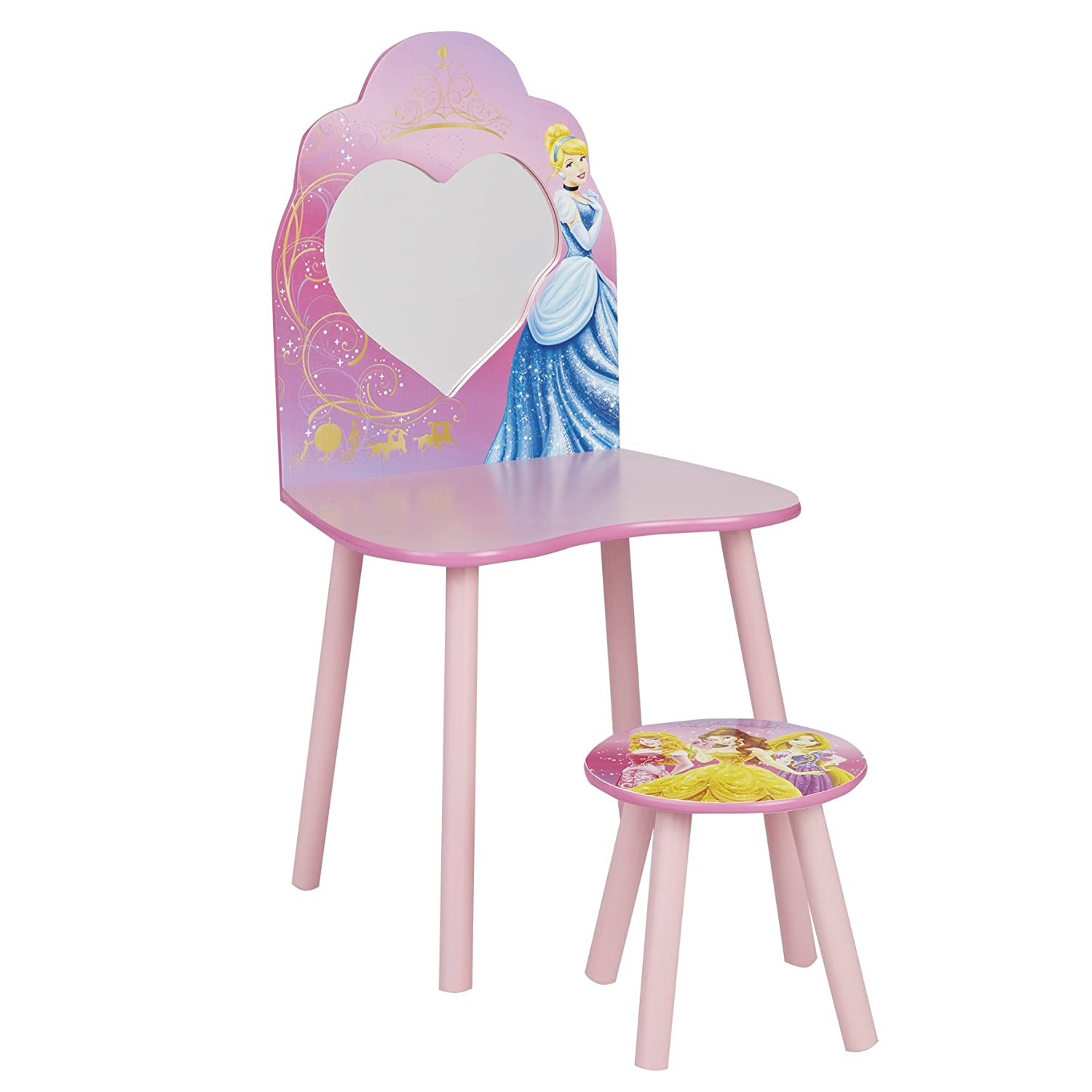Disney Princess Dressing Table and Stool by HelloHome Amazon