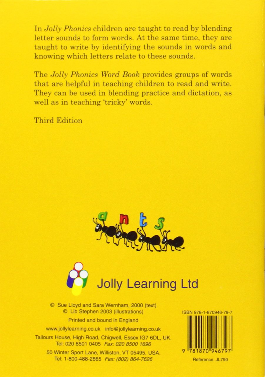 Workbooks jolly phonics workbook 1 free download : Buy Jolly Phonics Word Book: in Precursive Letters (BE) Book ...