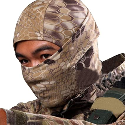 Warring States® Rattlesnake Camuflaje Tactical Headwear Face ...