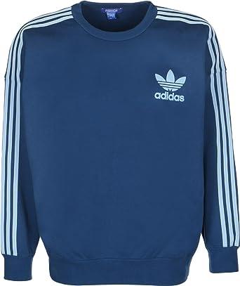31ff3ac35dc71 adidas ADC Fash Crew Sweater S blue/blue: Amazon.de: Bekleidung