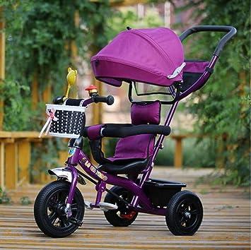 Carrito de bebé Cochecito de Triciclo para niños / 1-3-5 años Cochecito