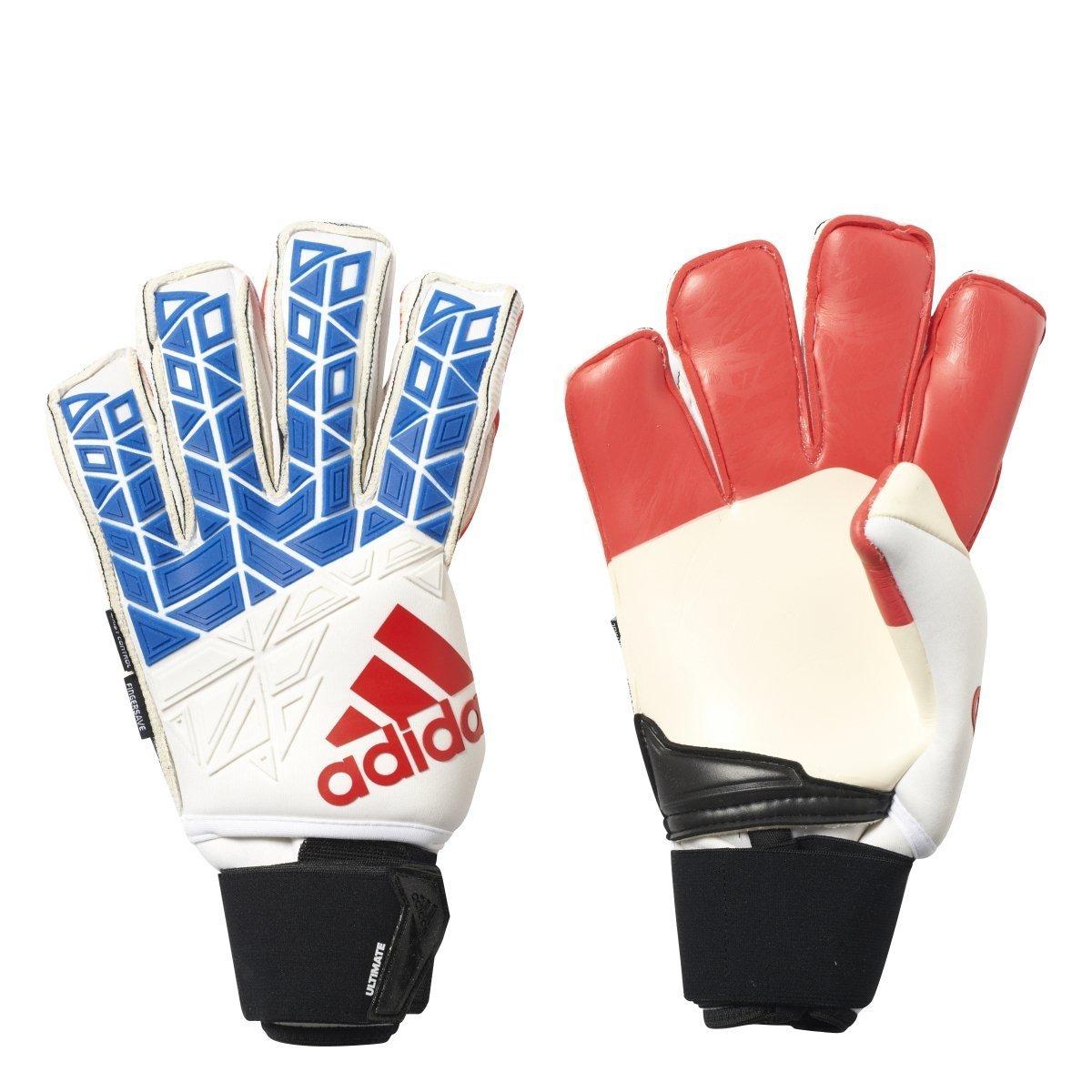Adidas Ace Trans Ultimate Fußball Torwarthandschuhe (, weiß, blau, rot, schwarz)