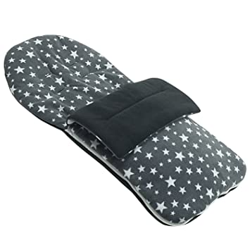 Forro polar saco compatible con Mountain Buggy Duo - gris Star: Amazon.es: Bebé