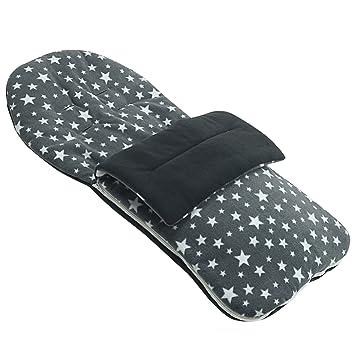 Forro polar saco compatible con Mountain Buggy Duo - gris Star: Amazon.es: Bebé