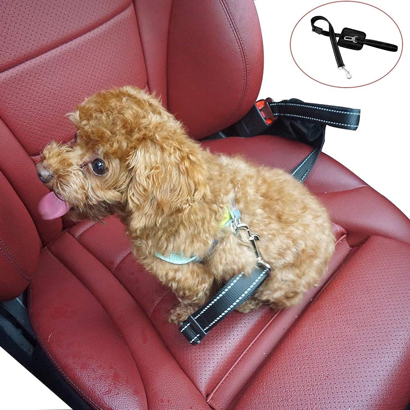 慎重疑い司書LAPOND ペットドライブボックス 中小型犬用 猫用 ペットブランケット付き 改良 助手席 後部座席 折りたたみ式 通気(ブラック)