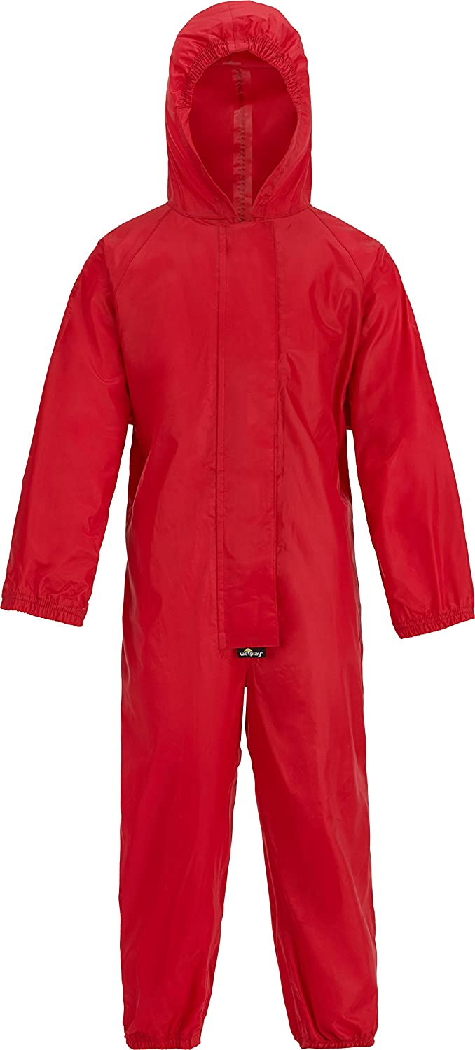 wetplay Playsuit All in One Kids Waterproof Suit Childrens Childs Boys Girls 1-7 Years
