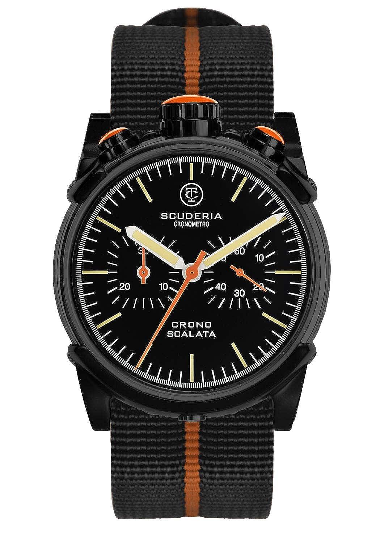 Scuderia Herren-Armbanduhr CT-013 Quarz Schwarz CS10108