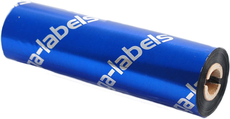 Farbband Premium Harz BRP-1D300-110 f/ür Brother TD-4T Etikettendrucker