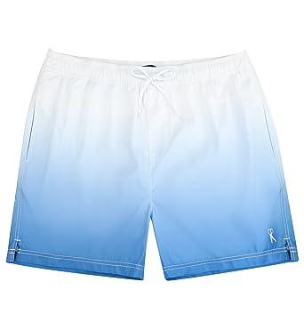8097dcc4cd8ed Lecoon Men's Swimming Trunks Board Shorts Swimwear Quick Drying Boxers  Bottoms Mesh Underpants Beachwear (S