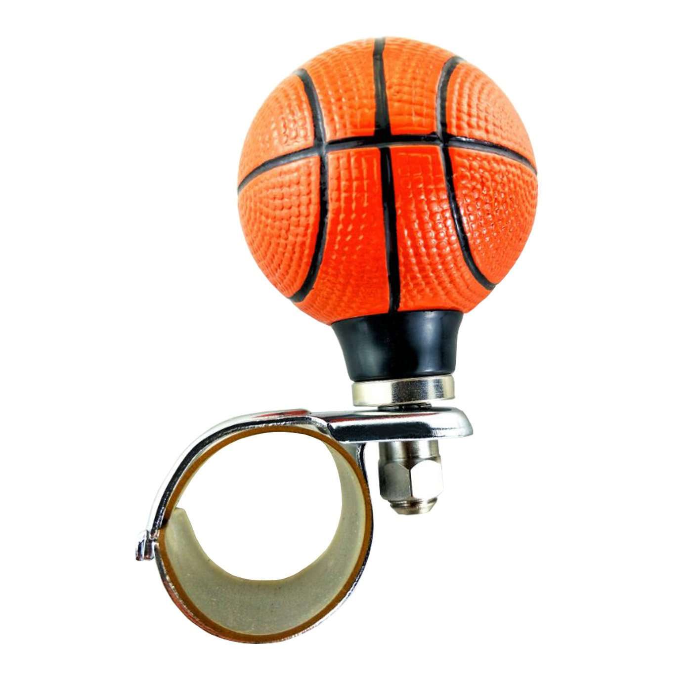 Lunsom Football Steering Wheel Booster Resin Driving Power Handle Knob Control Grip Suicide Spinner Aid Vehicle Turning Helper Fit Most Car