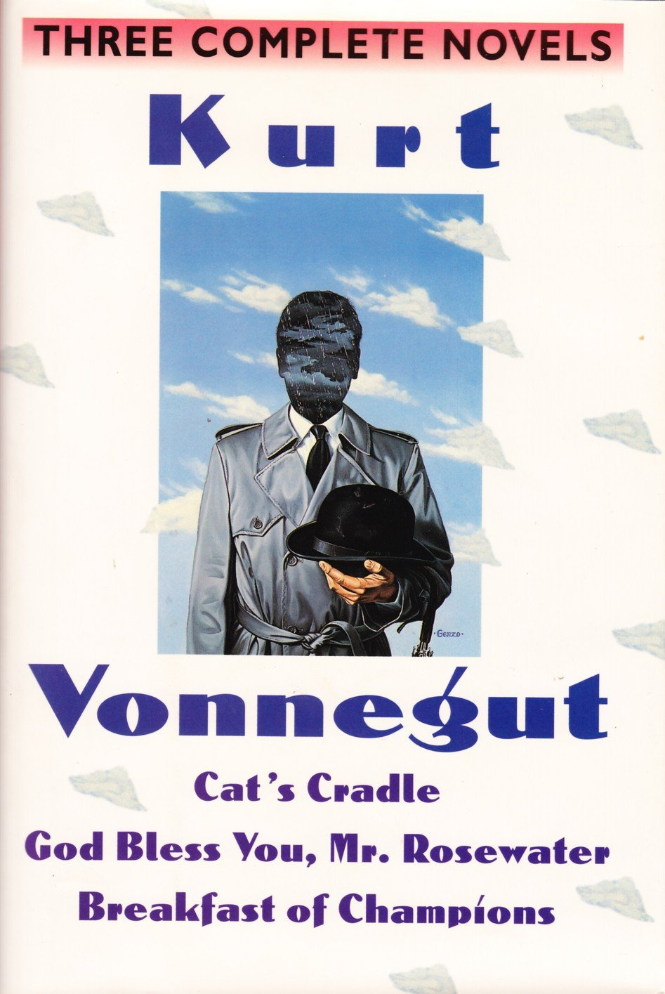 Kurt Vonnegut: Three Complete Novels: Cat's Cradle; God Bless You Mr. Rosewater; Breakfast of Champions, Vonnegut, Kurt