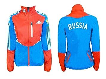 Adidas Team Russland Sportler Jacke – Herren 4850: Amazon