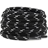 DELELE 2 Pair Work Boot Laces Outdoor Mountaineering Hiking Walking Shoelaces
