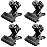 Neewer 4 Packs Multi Functional Spring Clamps, Camera Mount with 4 Pieces 1/4-inch Screw Tripod Ball Head Hot Shoe Adapters for SLR, DSLR, Video Cameras