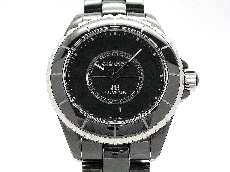 (シャネル) CHANEL 腕時計 J12 38ミリ インテンスブラック セラミック H3829 中古 B07F3ZC7GM