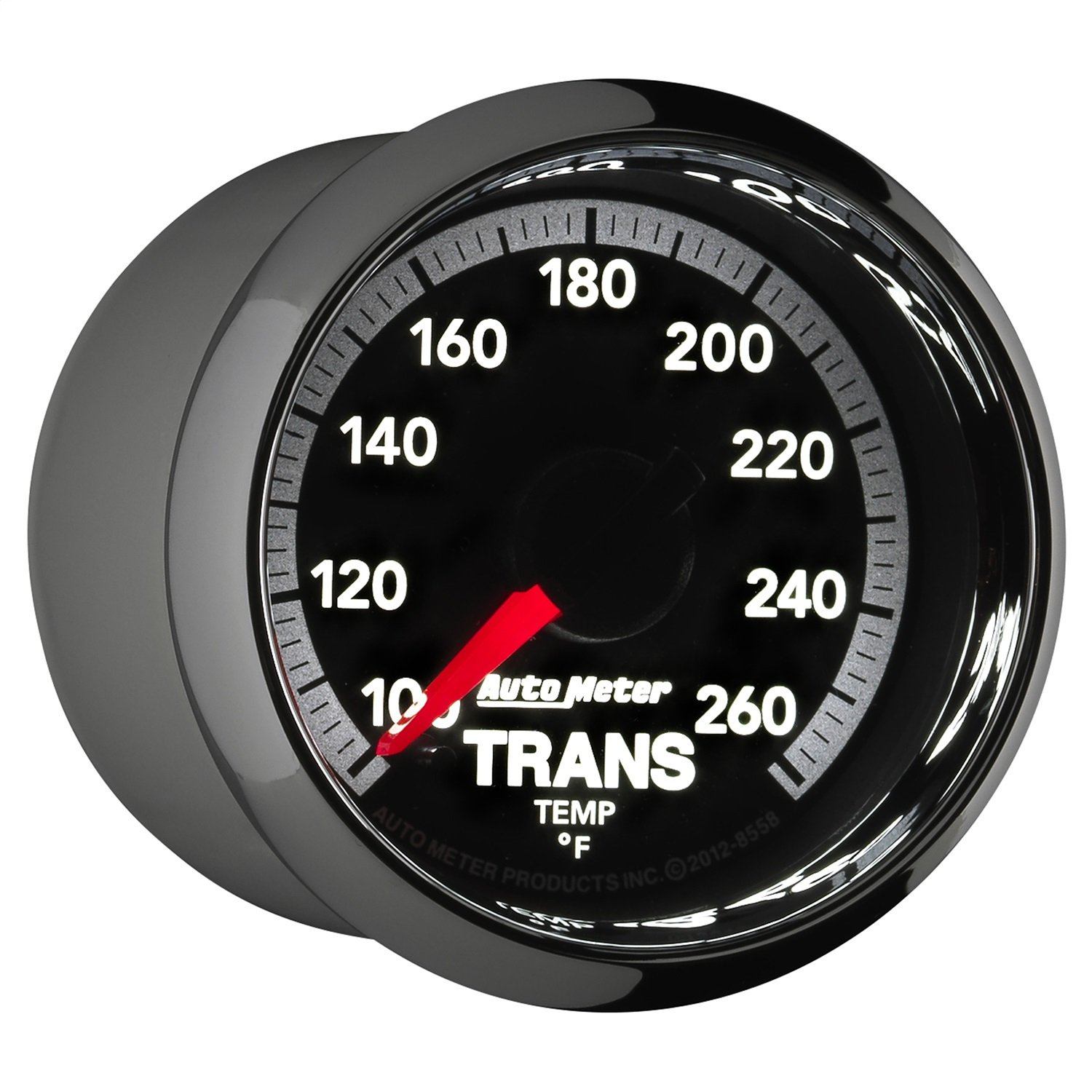 Auto Meter 8558 Factory Match 2-1/16'' Electric Transmission Temperature Gauge (100-260 Degree F, 52.4mm) by Auto Meter (Image #2)
