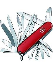 Victorinox Huntsman 1.3773 - Cuchillo navaja con 24 funciones, color rojo