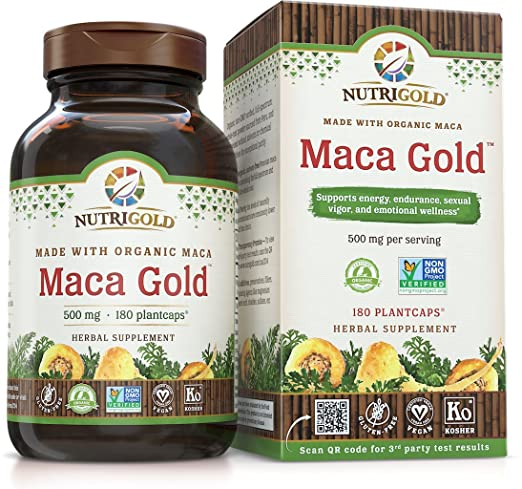 Maca root powder capsules