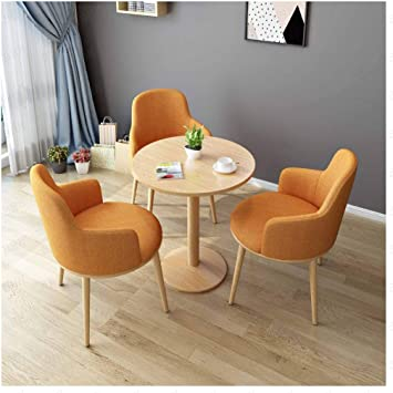 Amazon Com Simple Negotiation Table And Chair Sets Kitchen Small Furniture Combination Dessert Shop Cafe Hotel Office Corridor Bedroom Clothing Store Maternal And Child Shop Study Reception Center Furniture Decor