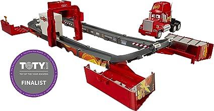 Amazon Com Disney Pixar Cars Super Track Mack Playset Toys Games