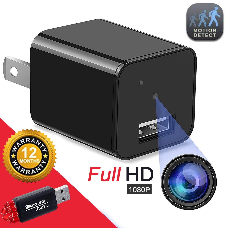 Hidden Camera Spy Camera Full HD 1080P Surveillance Camera Mini spy Nanny Camera by Tusionwin