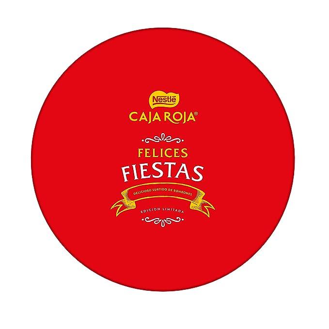 Nestlé Caja Roja - Bombones de Chocolate Surtidos - 500 g