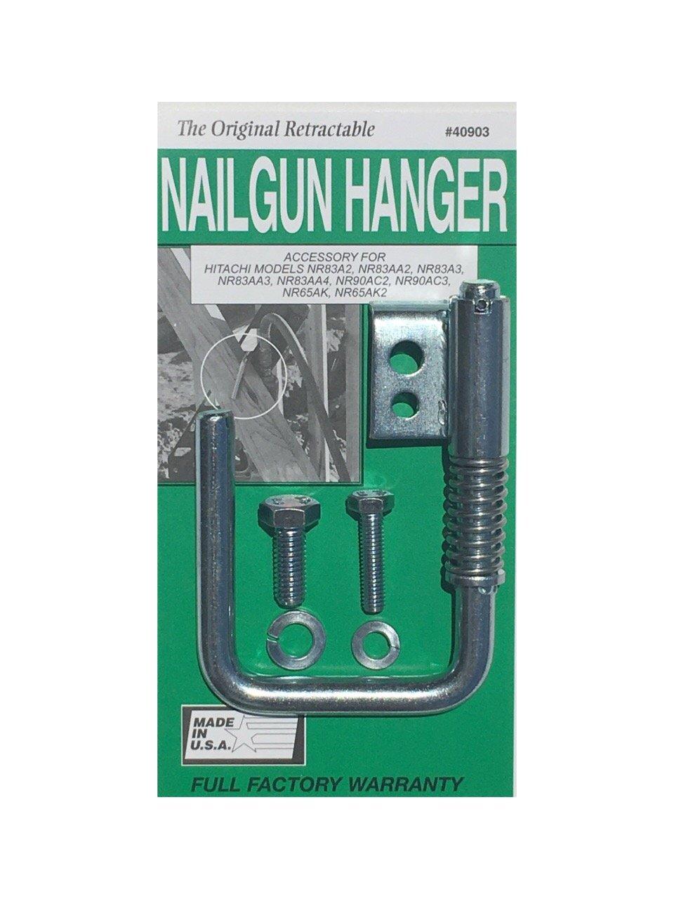 Toolhangers Unlimited Original Nail Gun Hanger (Green #40903)