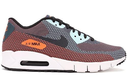 nouveau produit 68206 855fc Nike Air Max 90 Jacquard Running Shoes (631750 408), 12 ...