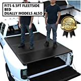 DNA Motoring TTC-HARD-005 Pickup Truck Bed Top Hard Solid Tri-Fold Tonneau Cover