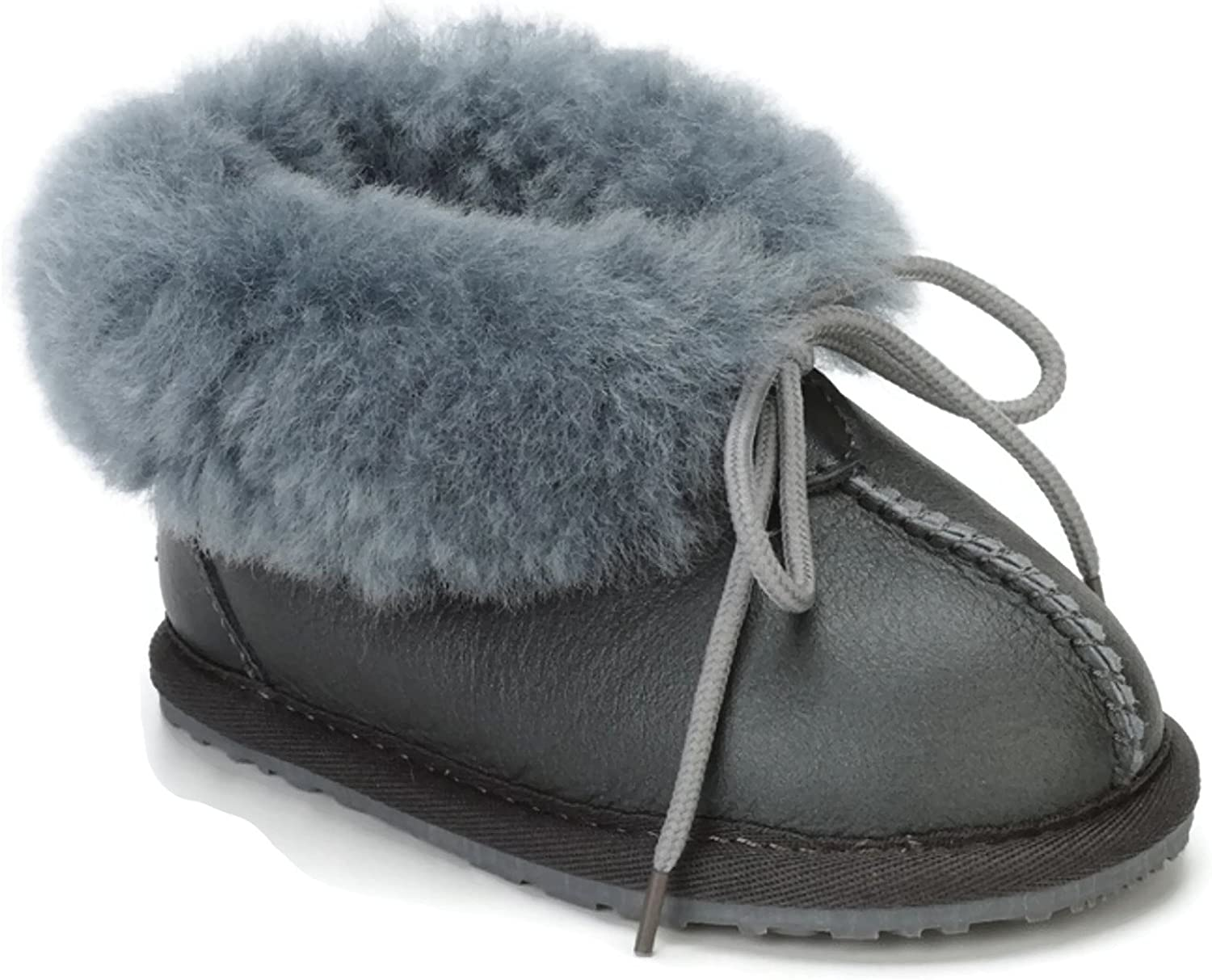 Boys, Girls: Baby//Toddler//Little Kids CooL BeanS Sheepskin Childrens Slippers Warm Fur Winter Boots