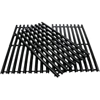 "Zljiont 3 Pack Porcelain Steel Cooking Grid Replacement for Charbroil 463433016, 463461615, 463420507, 463420508, Kenmore 463420507, Master Chef 85-3100-2, 85-3101-0, G43205, T480, riginal Part Numbers: 80008076, 80018559, G432-0002-W1, G432-4300-01(16 7/8"" x 9 5/16"" Each)"