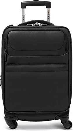 Lightweight Suitcase Genius Pack G4 22 Carry On Spinner Luggage G4 - Red Organized Smart