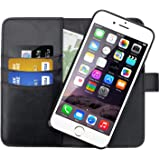 SHANSHUI Wallet Case Compatible with iPhone 6/6s/7/8 and iPhone SE(2020), Premium PU Leather RFID Blocking Magnetic Detachabl