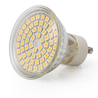 Extra Star 5 x GU10 Bombillas LED 3 W equivalente a 24 W 280lm Blanco Frío
