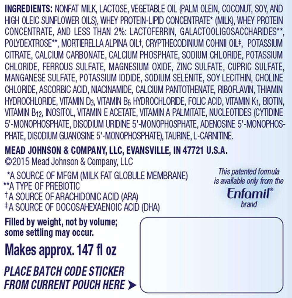 Enfamil Enspire Infant Formula, Powder 102.5 Ounce