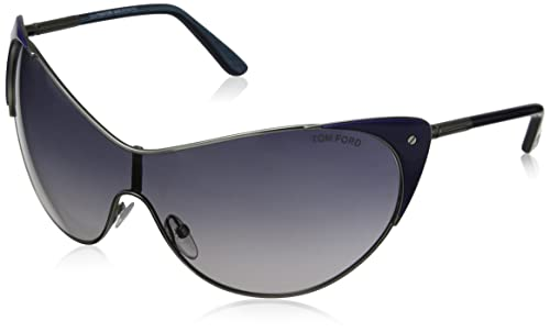 4bf8cf68c274 Amazon.com  Tom Ford Women s TMF-SUNG-FT0364-89W-0 Designer Sunglasses