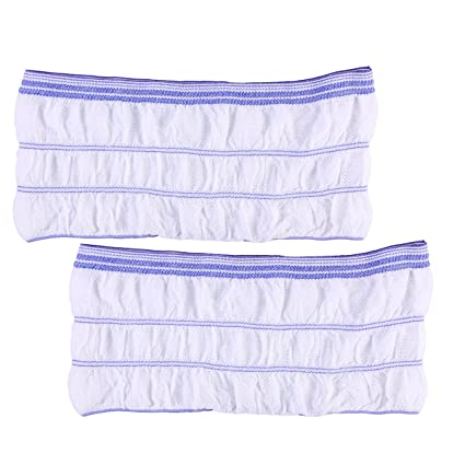 Healifty 2pcs Unisex pantalones de incontinencia Maternity Pads calzoncillos ropa interior desechable tamaño L (azul