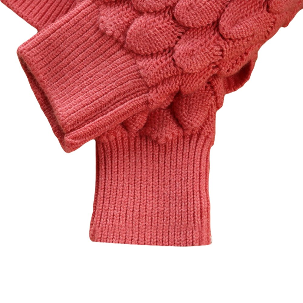 LOSORN ZPY Toddler Baby Girl Cable Knit Sweater Lovely Kid Pullover Sweatshirt
