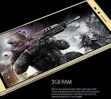 Elephone Vowney-Smartphone libre 4 g LTE 64bit de 4 GB, 32 GB, pantalla de 5,5