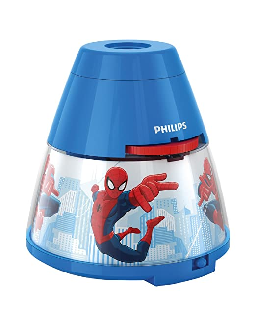 430 opinioni per Philips e Disney Spiderman Lampada da Tavolo Proiettore LED, Blu