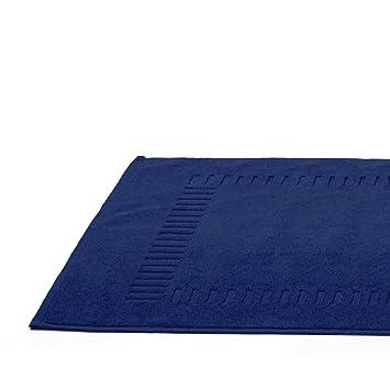 Badezimmerteppich Pure Marine Frottee 50 X 70 Cm Amazon De