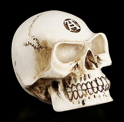 Totenkopf Schaltknauf Alchemist Knochenfarben Schädel Skull Auto