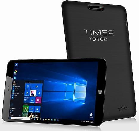 Time2® 8 Pulgadas Windows 10 Tablet PC (Quad Core, 1GB RAM, 32GB ...