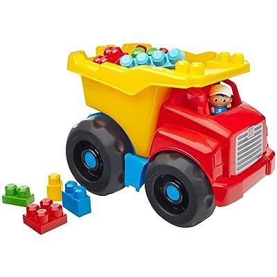 Mega Bloks CXN67 First Builders Dump Truck Set Building Kit: Toys & Games